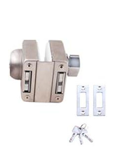 PGL-429  (12mm GLASS) SINGLE GLASS LOCK                             ONE SIDE KEY ONE SIDE KNOB (SS-201)